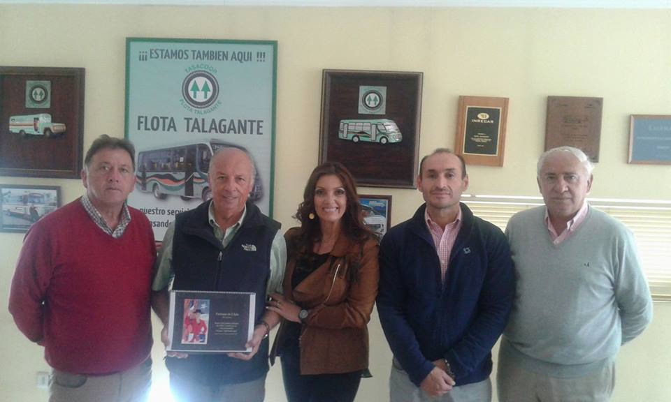 Flota Talagante Apoya la Cultura Talagantina en Europa