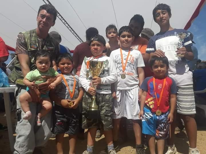 Flota Talagante aporta trofeos a Club de Pesca Tala-Canta